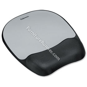 Fellowes Memory Foam Wrist Support - Mouse Pad