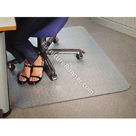Polycarbonate Rectangular Carpet Floor Mats