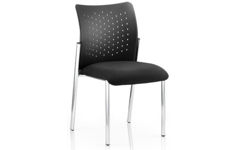 Dynamic Academy Visitor Chair Black