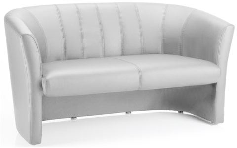 Dynamic Neo Twin Tub White Leather