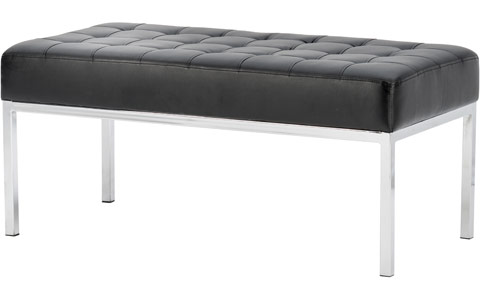 Dynamic Infinity Deep Buttoned Bench And Magazine Table