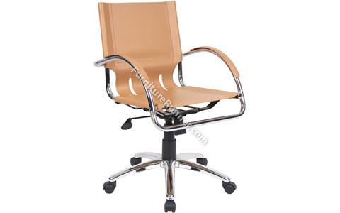 DAMS Chromus Leather Manager Chair