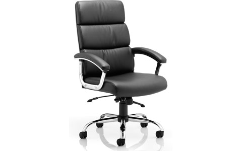 Dynamic Desire Executive Chair Black With Arms With Headrest