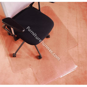 PVC Lipped Chair Mats