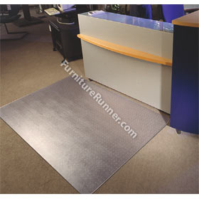 Rectangular PVC Chair Mats
