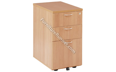 Jemini Desk High Pedestals