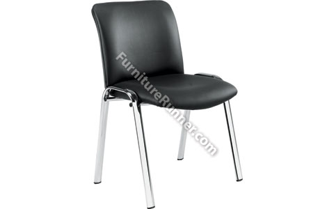 Arista Executive PU Side Chair