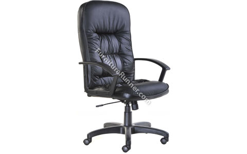 DAMS King Leather High Back Chair