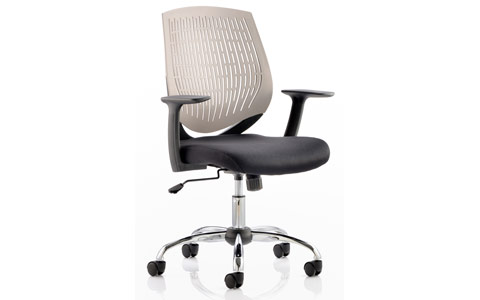 Dynamic Dura Task Operator Chair Grey With Arms
