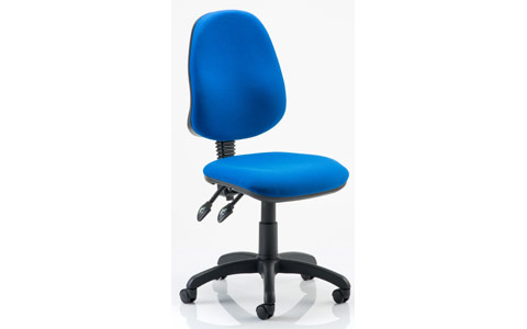 Dynamic Eclipse II Lever Task Operator Chair Blue