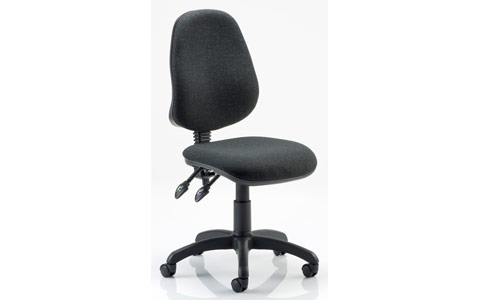 Dynamic Eclipse II Lever Task Operator Chair Charcoal