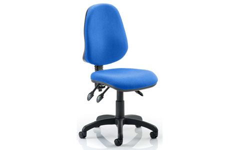 Dynamic Eclipse III Lever Task Operator Chair Blue