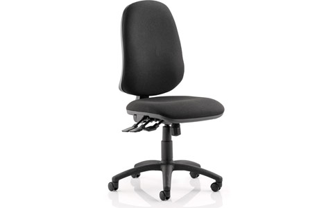 Dynamic Eclipse XL III Lever Task Operator Chair Black