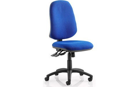 Dynamic Eclipse XL III Lever Task Operator Chair Blue