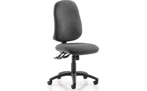 Dynamic Eclipse XL III Lever Task Operator Chair Charcoal