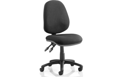 Dynamic Luna II Lever Task Operator Chair Black