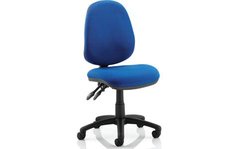 Dynamic Luna II Lever Task Operator Chair Blue