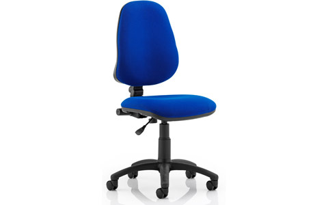 Dynamic Eclipse I Lever Task Operator Chair Blue