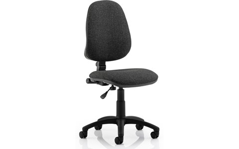 Dynamic Eclipse I Lever Task Operator Chair Charcoal