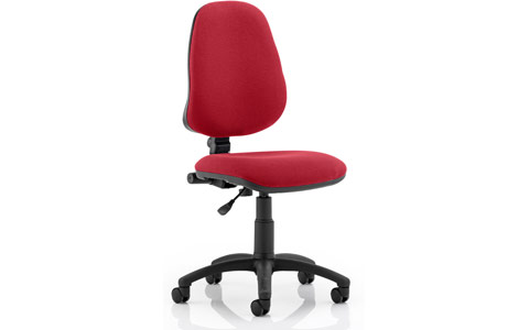 Dynamic Eclipse I Lever Task Operator Chair Wine
