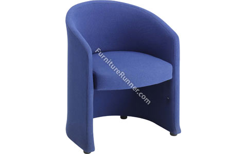 DAMS Slender Large Single Seat Reception Tub Chair