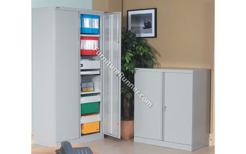 Bisley Two Door Steel Storage Cupboards