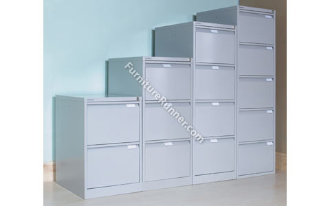 Bisley Premium BS Series Flush Front Filing Cabinets