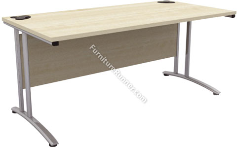 Gresham D3K Deskits 800mm Deep Rectangular Desk