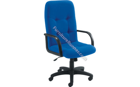 Arista High Back Fabric Manager Chair