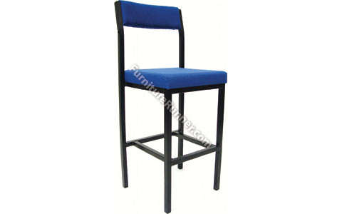 Jemini High Stool with Back Rest