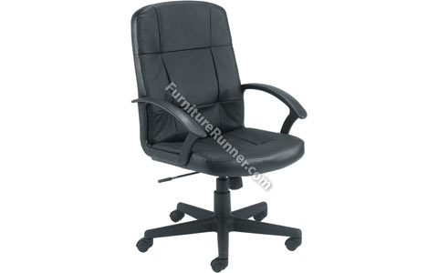 Jemini High Back Leather Managers Chair