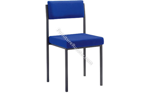 Jemini Metal Frame Fabric Stacking Chair