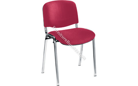 Jemini Multipurpose Stacker Chair - Chrome Legs