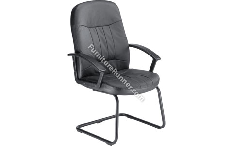Trexus Country Leather Visitors Chair