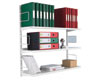 Zamba Wall Mounted Twinslot Shelving