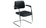 Arista Cantilever Meeting Chair PU